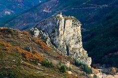 Alpes haute Provence Automne by papy06200, via Flickr ~ (Le Roc, ou Roc Notre-Dame domine la ville de castellane de ses 184 m de haut. C'est le site qu'elle occupait au Haut Moyen Âge)