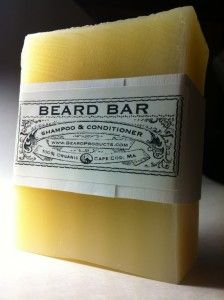 This old fashioned Beard Bar is a beard shampoo and beard conditioner in one. Just a small amount of this special soap lathers up thick and has a natural mild scent of lemon, lavender and thyme. Thoroughly cleans and deeply conditions your beard using organic oils. Leaves your beard feeling soft, clean and manageable. http://beardproducts.com/shop/beard-bar