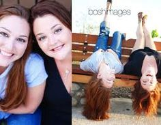 Sisters photography fun pose