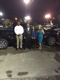We had a big birthday present in here the other night as well! Here are Mr. and Mrs. Jackson, and their all new 2014 F-150 XLT! Mr. Jackson purchased his new truck on his birthday after trading in his 2008 Chrysler 300 Touring with help from our own wonderful Jennifer Hughes! From all of us here at Ford of Murfreesboro, HAPPY BIRTHDAY and welcome to the Ford family!!
