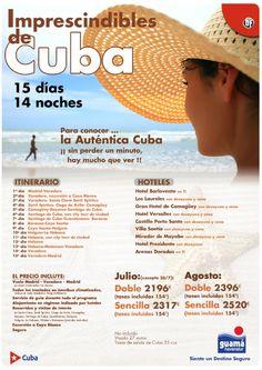 Imprescindibles  de Cuba - http://zocotours.com/imprescindibles-de-cuba-10/