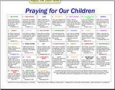 Our bible study teacher shared this with us, and now I'm sharing with you. Pray for your children daily and with purpose. Pray for your grandchildren even if you don't have any. Start now!