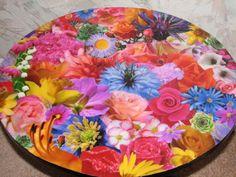 Learn How to Decoupage: Decoupage a Table