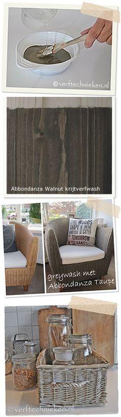 Greywash van Abbondanza krijtverf