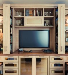 Designed By Pamela Amerson Learn More: Https://www.closetfactory.com/ |  Entertainment Centers | Pinterest
