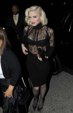 "justnodoubt: ""Gwen Stefani arrives at UTA pre Oscar Party in Beverly Hills, 21st February 2015. """