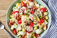 Cobb Egg Salad Tastes SO Good In A Sandwich or with leafy greens Nutrition Education, Healthy Recipes, Diet Recipes, Cooking Recipes, Weeknight Recipes, Chicken Recipes, Keto Chicken, Cooking Tips, Weeknight Dinners