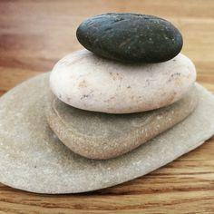 Sten på hög