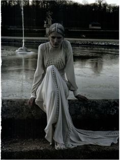 Vogue Italia Mar 2012, Valentino Haute Couture by Deborah Turberville