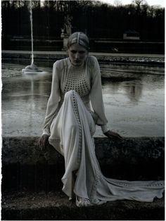 Vogue Italia Mar 2012, Valentino Haute Couture by Deborah Turberville