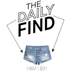 The Daily Find | The Denim Cut Off