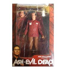 This is an Ash Vs Evil Dead Value Stop Ash Williams Action Figure that's produced by the good folks over at NECA. If you're a fan of Bruce Campbell and the Evil