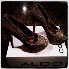 Cinderella-meets-Beyonce heels! Love!