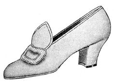 Victorian lady shoe #2