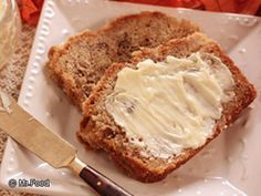 Bapple Bread (Banana and Applesauce Bread) | mrfood.com