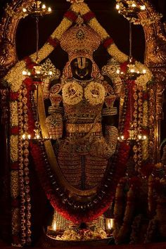 "Lord Venkateswara is a form of the Hindu God Maha Vishnu. Venkateswara literally means ""Lord of Venkata"". The word is a combination of the words Venkata (the name of a hill in Andhra Pradesh) and isvara (Lord). Hd Wallpaper 4k, Shiva Wallpaper, Images Wallpaper, Wallpaper Downloads, Mobile Wallpaper, Monkey Wallpaper, Batman Wallpaper, Wallpaper Gallery, Cellphone Wallpaper"