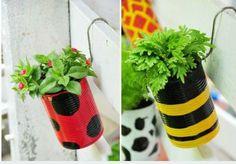 Vasos artesanais para seu jardim