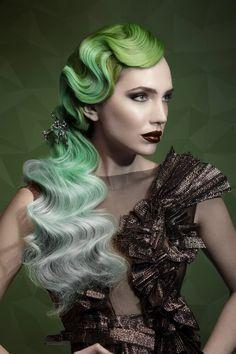 Hair Gonzalo Zarauza @ Centro Beta   Photos David Arnal   Photo retouching Javier Villalabeitia   MUA Wild Van Dijk   Style Visori FashionArt