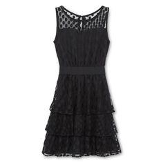 jcpenney - Sally M™ Sally Miller Tiered Dotty Dress - Girls 6-16 - jcpenney