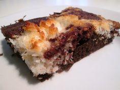 En verden af smag!: Brownie med Kokosmarmor