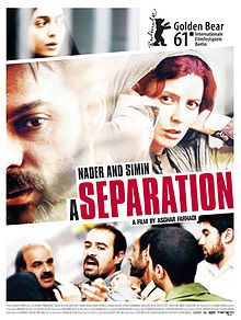 Nader And Simin - A Seperation, by Asghar Farhadi. Great movie! Oscar Winner: Best Foreign Film 2012