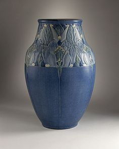 Joseph Fortune Meyer (France, Alsace-Lorraine, 1848 - 1931) , Newcomb College Pottery (United States, 1895 - 1940) , Connie Marie Chalaron (United States, 1900 - 1977) Vase, 1925
