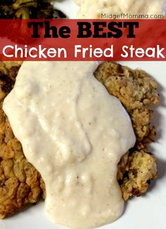 Chicken Fried Steak.This is the best Chicken Fried Steak you will ever make. Just like down south right at home in your kitchen! Easy Chicken Fried Steak!