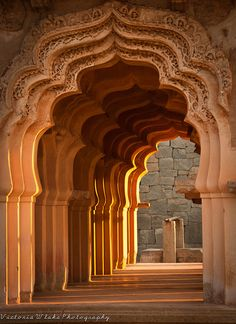 Lotus Mahal Archways, India
