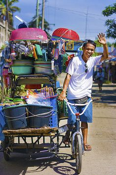 HARD PEDALING BY MILES, MADE LIGHT WITH FILIPINO SMILES | Flickr - Photo Sharing!