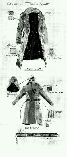 traje de el asesino jacob frye