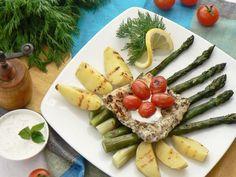 Pyszne szparagi z grilla. Idealne danie na obiad!