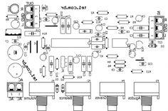 lm1036 ne5532 top silk mirror 700x465 Lm1036   Circuito de Controle de tons estéreo Graves, Agudos, Volume circuito audio circuito circuito amplificador