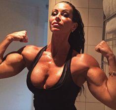 Big tit strong girls