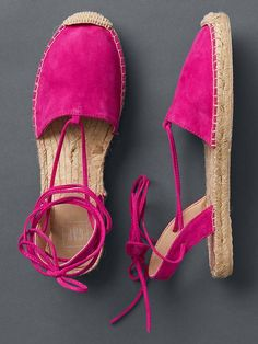 Lace up espadrilles Product Image