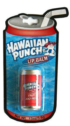 Hawaiian Punch lip balm | Flickr - Photo Sharing!