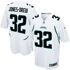 Nike Maurice Jones-Drew Jacksonville Jaguars Youth Game Jersey - White - $20.99