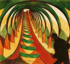 Cyril Edward Power, The Escalator, 1930