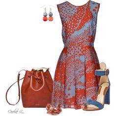 """""""Missoni Dress & Chelsea Paris Sandals"""" by carolinez1 on Polyvore"""
