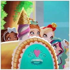 Did Ever After High's bake sale team bite off more than they could chew? Find out in tomorrow's all-new webisode on YouTube.com/EverAfterHigh!
