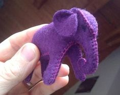 Natural toys wool felt animals role play Waldorf eco by Felthorses Best Baby Gifts, Baby Boy Gifts, Gifts For Girls, Cute Gifts, Baby Elephant, Stuffed Elephant, Purple Elephant, Giraffe, Beautiful Gifts
