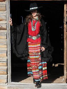 Lakota Concho on Dark Vintage
