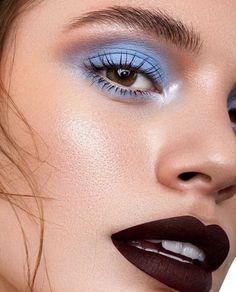 eye makeup goes with black dress makeup for hazel eyes makeup accessories eye makeup suits me makeup aesthetic makeup or face first eye makeup looks best on me makeup jaclyn hill Cute Makeup, Glam Makeup, Pretty Makeup, Makeup Art, Beauty Makeup, Hair Makeup, Awesome Makeup, Men Makeup, Blue Makeup Looks
