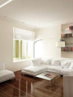 minimal living room design.