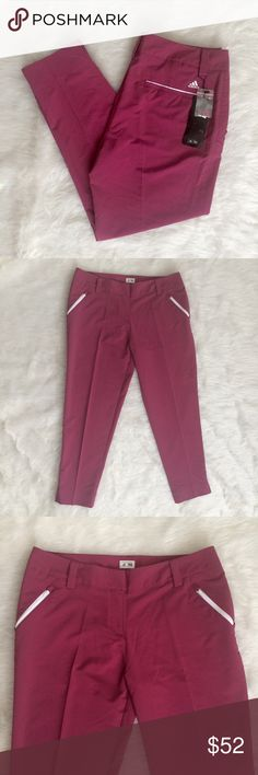 "Adidas Triber Cropped Golf Pants Women's Size 12 Brand New Adidas Triber Cropped Golf Pants  Women's Size 12  Inseam 28"" adidas Pants Ankle & Cropped"