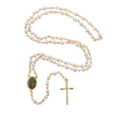 A perfect memento for a Quinceañera or anyone with a special devotion to Our Lady of Guadalupe.