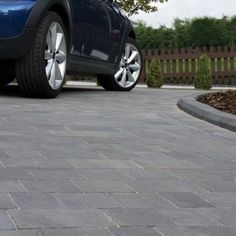Woburn Original is everything you need from a driveway. It's tough and uncompromising in performance to withstand the rigours of daily vehicle use. Block Paving Driveway, Driveway Landscaping, Driveway Ideas, Halifax West Yorkshire, Builders Merchants, Color Unit, Garden Paving, Beautiful Gardens, Graphite