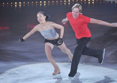 Mao Asada and Evgeni Plushenko