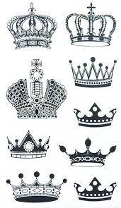 Resultado de imagen para corona para mujer tatoo dibujo