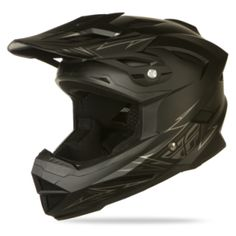 2014 Fly Racing Default Matte Black BMX Helmet *dies* I need it. Mountain Bike Store, Bmx Mountain Bike, Mountain Bike Clothing, Mountain Bike Helmets, Bmx Gear, Cycling Gear, Bmx Helmets, Motorcycle Helmets