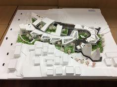 Concept Models Architecture, Architecture Life, Landscape Architecture Design, Sustainable Architecture, Architecture Details, Kindergarten Design, Landscape Model, Design Apartment, Arch Model